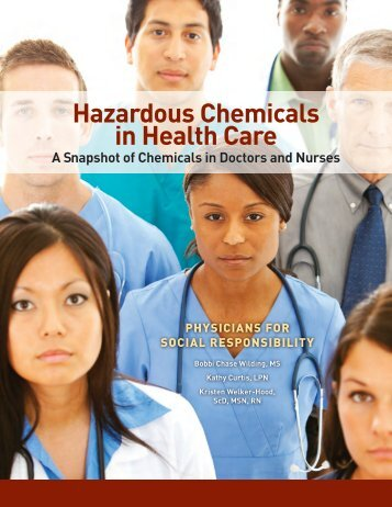 Hazardous Chemicals In Health Care Report - Physicians for Social ...