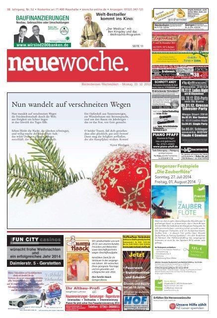 Jubilaum Heidenheimer Zeitung