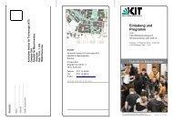 Einladung und Programm - Fakultät für Maschinenbau