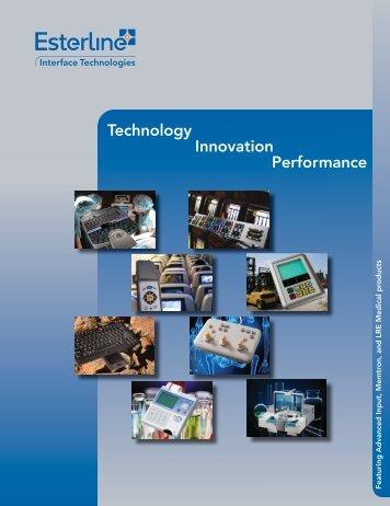 Interface Technologies Brochure - Esterline