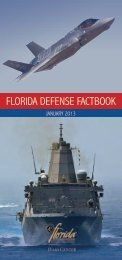 Florida Defense Factbook 2013 - Florida Defense Alliance