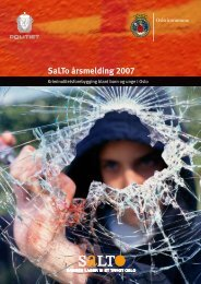 SaLTo årsmelding 2007 - Salto Oslo kommune