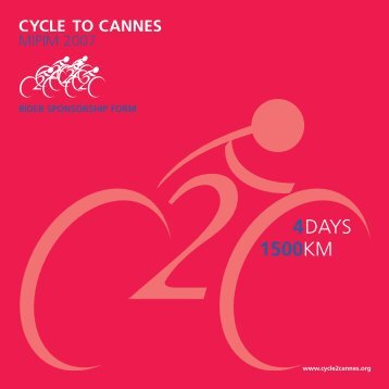 cycle to cannes - BD