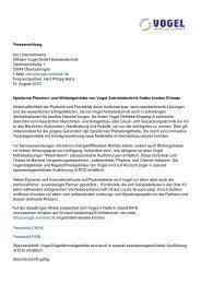 Print - Vogel Antriebstechnik