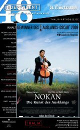 GEWINNER DES AUSLANDS-OSCAR® 2009