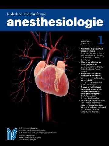 Thema: cardioanesthesiologie - Nederlandse Vereniging voor ...
