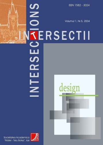 "Nr.5r Design - ""Intersections"" International Journal"