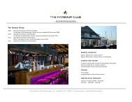 FACTSHEET The Harbour Club Scheveningen_English - World Forum