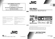 KD-R621 - Jvc