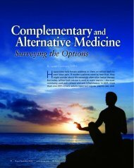 Complementary and Alternative Medicine, Surveying ... - Igliving.com