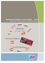 PROPOSITIONS D'ACTIONS - 2009