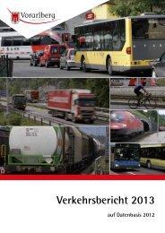 PDF: Verkehrsbericht 2013 - Vorarlberg