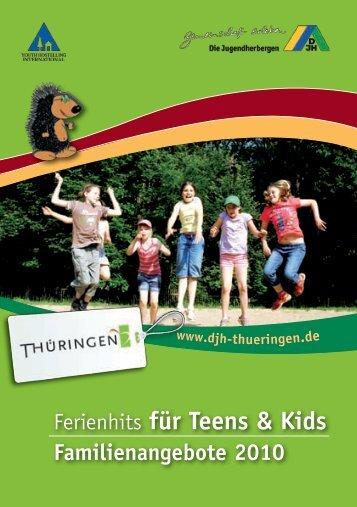 Ferienhits für Teens & Kids