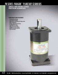 gear motor specs.pdf - ISL