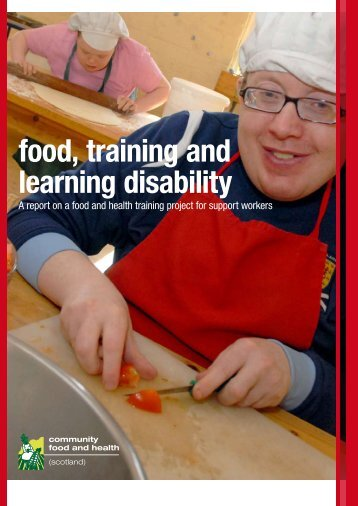 food, training and learning disability - Community Food and Health