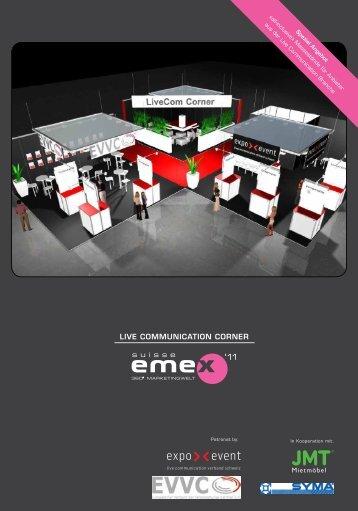 Live communication corner - Expo.Event