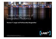 System Implications of Integrated Photonics Integrated ... - islped
