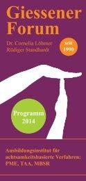 Giessener Forum - MBSR-Ausbildung