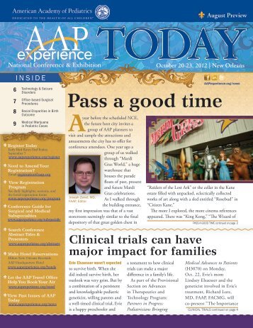Pass a good time - American Academy of Pediatrics National ...