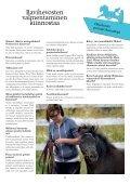 ravinuorten ja suomen poniraviyhdistyksen jäsenlehti - Hippos - Page 7