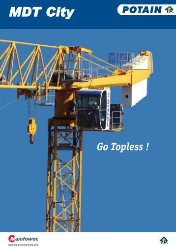 Manitowoc Crane CARE - Applications services