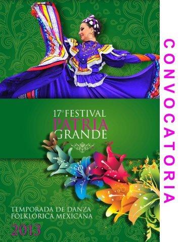 C O N V O C A T O R I A - Coordinacion Nacional de Danza