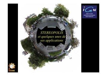 Nicolas PAPARODITIS - Recherche - Ign
