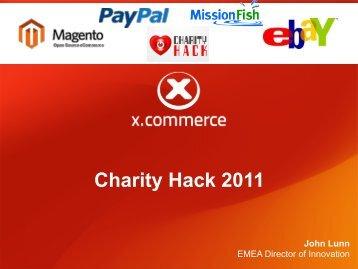 Charity Hack 2011 - Morena Francia