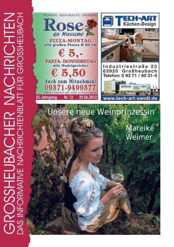 Großheubacher Nachrichten Ausgabe 13-2012 - STOPTEG Print ...