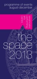 download the programme of events - Sevenoaks School