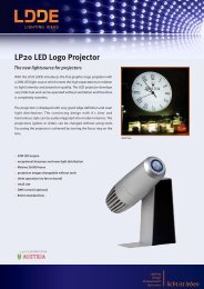 LP20 LED Logo Projector