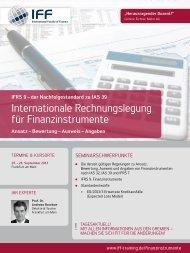 Internationale Rechnungslegung für ... - Finance Magazin