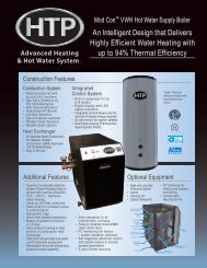 An Intelligent Design that Delivers Highly Efficient Water Heating ...