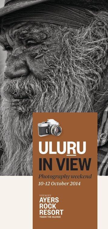 ULURU IN VIEW