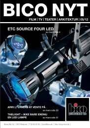 ETC SOURCE FOUR LED - Bico Professionel