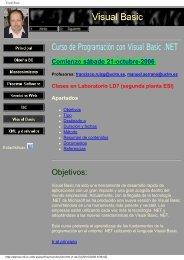 Visual Basic - Universidad de Castilla-La Mancha