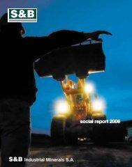Social Report 2006 - S&B