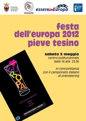 volantino - Provincia autonoma di Trento