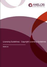 Licensing Guidelines - Best Management Practice
