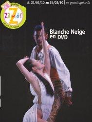 Blanche Neige en DVD - Zibeline