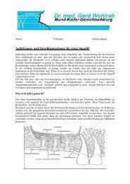Knochenaufbau über Sinuslift.pdf - Dr. med. Gerd Wohlrab