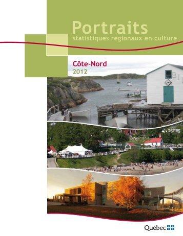 Portrait Côte-Nord - Ministère de la Culture et des Communications ...