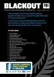 Team Newsletter #2 - Triathlon New Zealand