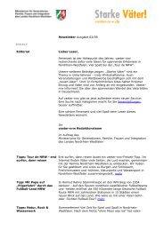 Newsletter Ausgabe 02/09 INHALT Editorial Lieber ... - Starke Väter