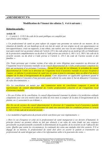 Amendments HPST V4 - snmkr