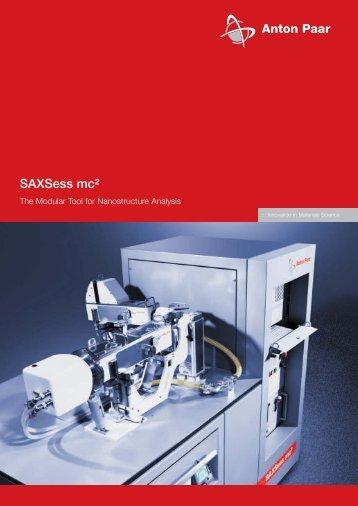 SAXSess mc² - MEP Instruments