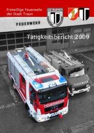 Tätigkeitsbericht 2009 - Freiwillige Feuerwehr der Stadt Traun
