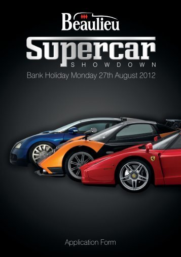 Bank Holiday Monday 27th August 2012 - Beaulieu