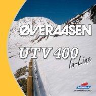 UTV 400 Unit Snøfreser - Øveraasen