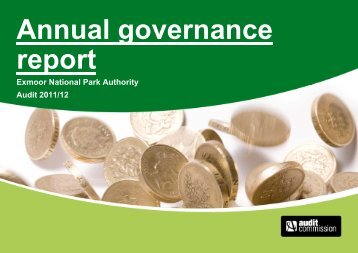 Annual Governance Report 2011-12 - Exmoor National Park